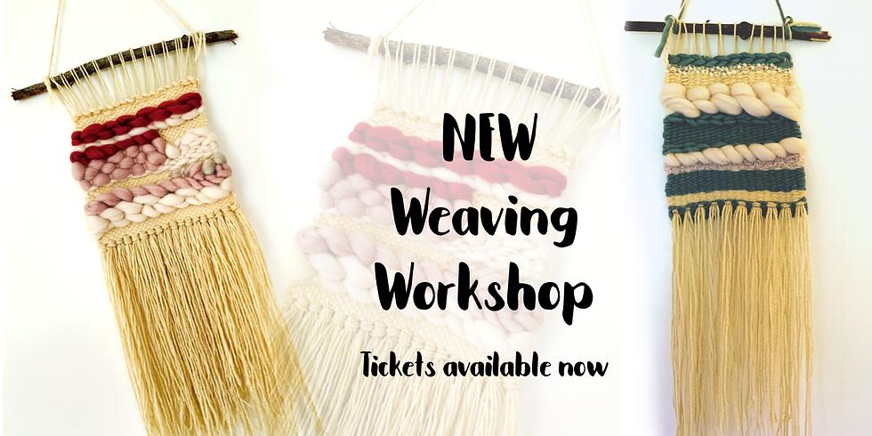 Weaving workshop at The a Creative Coffee Hub