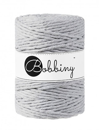 Bobbiny Macramé Cord - Light Grey