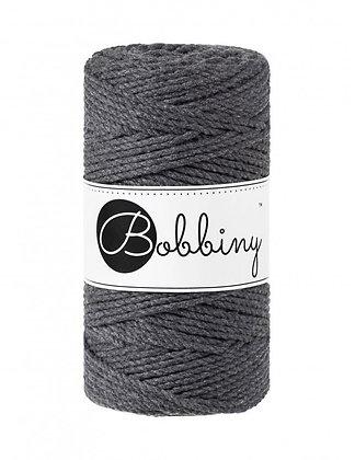 Bobbiny 3 Ply Macramé Rope - Charcoal