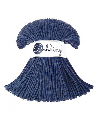 Bobbiny BRAIDED CORD 100M Jeans