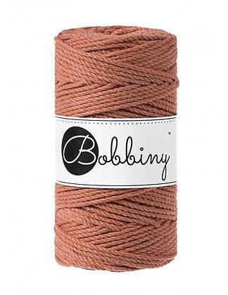 Bobbiny 3 Ply Macramé Rope - terracotta
