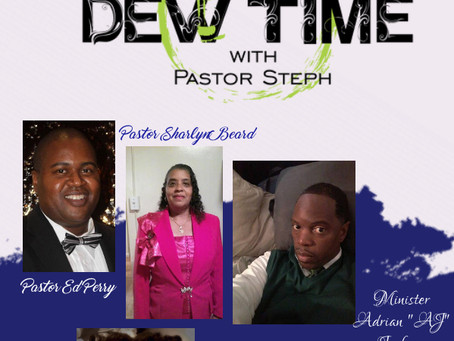 "Christian Book Writer Debuts New Release on ""It's DEW Time with Pastor Steph"""