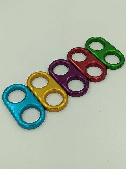 Anodized Aluminum 2 Finger Jam Handle