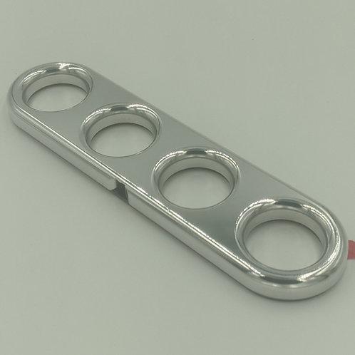 Aluminum 4 Finger Jam Handle