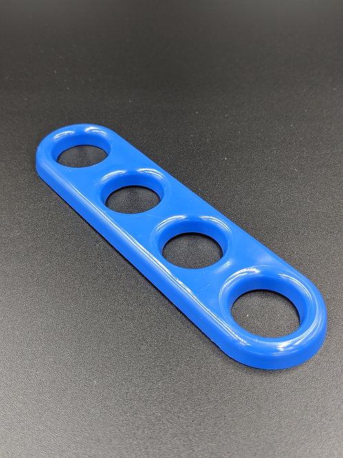 New MED BLUE 4 Finger Jam Handle