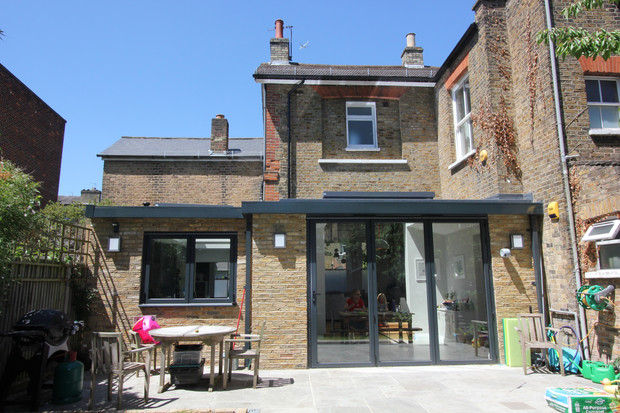 Rear extension in Herne Hill conservation area complete