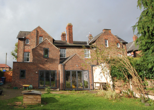 Two storey Cheshire extension complete