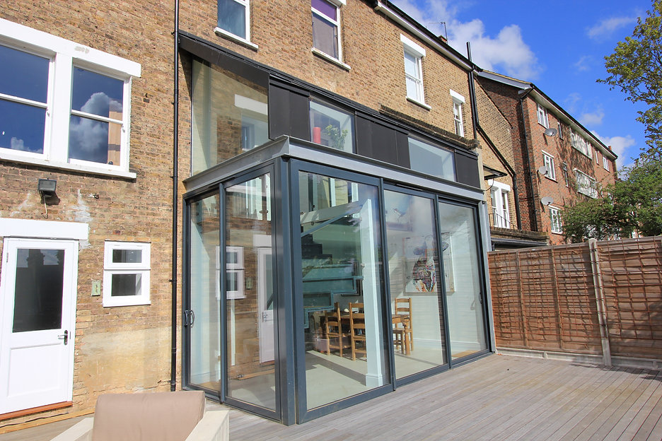 Zinc & glass extension Lewisham