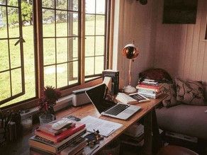 How to make a writer's workspace at home during the pandemic: Covid-19 2021