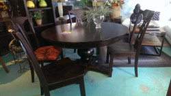 """54"""" Canadel Dining Set SOLID BIRCH"""