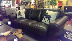 Genuine Italian Leather sofa Made in