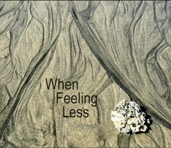 When feeling less, create more!