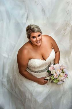 Glamour bridal makeup