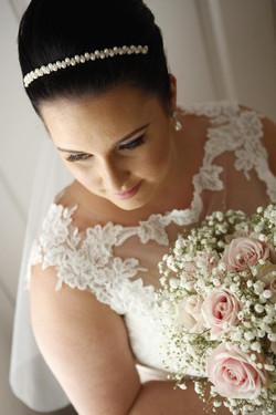 wedding lashes & makeup