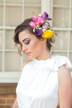 Pretty bridal look