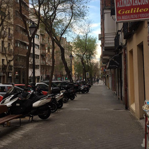 Madrid: Senses of a ghost town