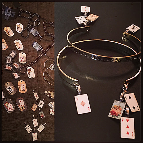 Fortune Teller Card Jewelry