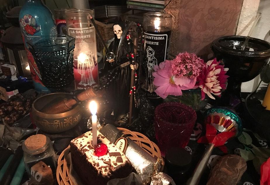 My Santa Muerte Altar