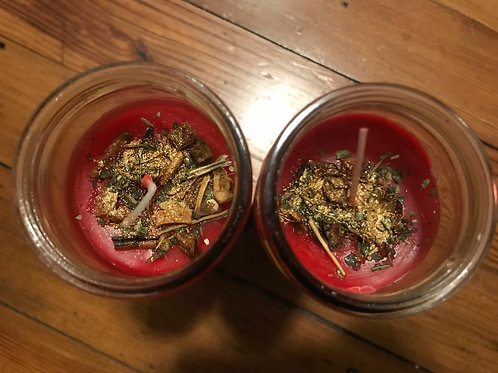 Passion Charged Spell Candle