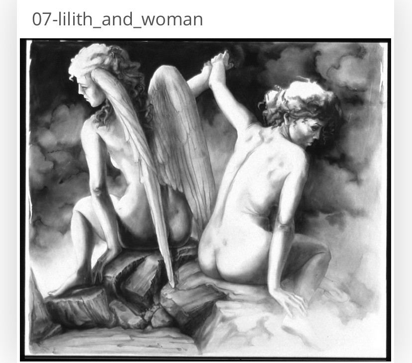Lunar Woman Freeing Woman of Man