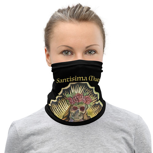 Santa Muerte Facemask/ Neck Gaiter Essential Black
