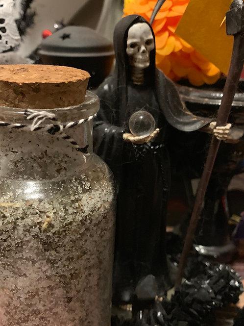 Custom Santa Muerte Cleansing Bath- Novena