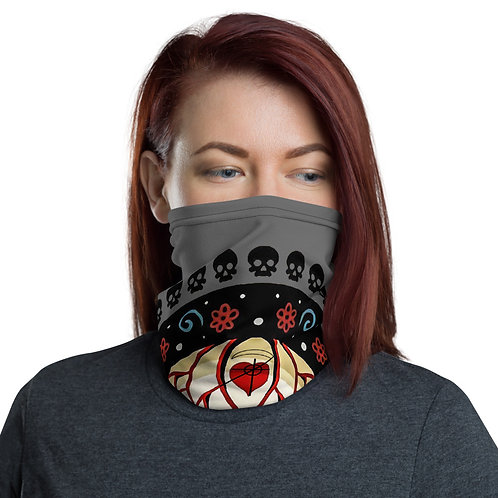 Santa Muerte Protection and Health Facemask/Neck Gaiter