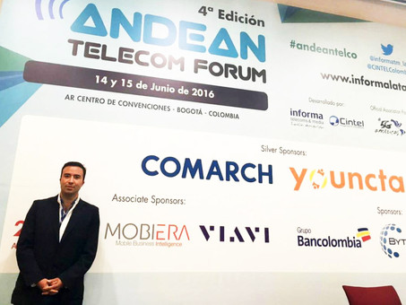 """""""Immediate Interaction and Intelligence"""". MOBIERA´s Conference on Andean Telecom Forum 201"""