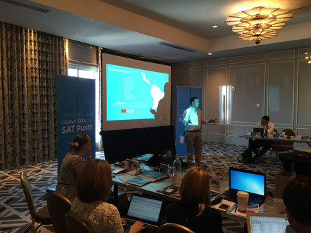 """Mobiera sponsored """"Mobile Workshop Advertising Miami"""" by Telefonica"""