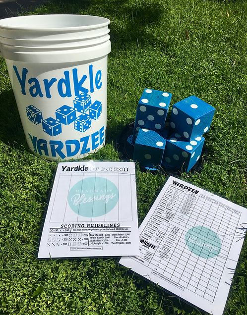Yardzee / Yardkle Large Dice Games