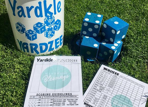 Yardzee / Yardkle Large Dice Games