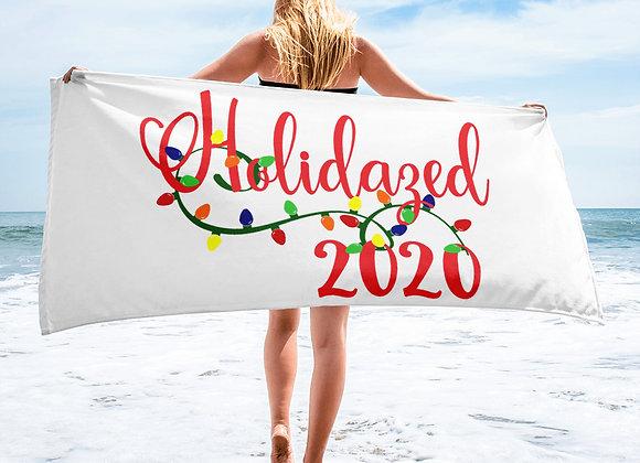 Holidazed 2020 Towel