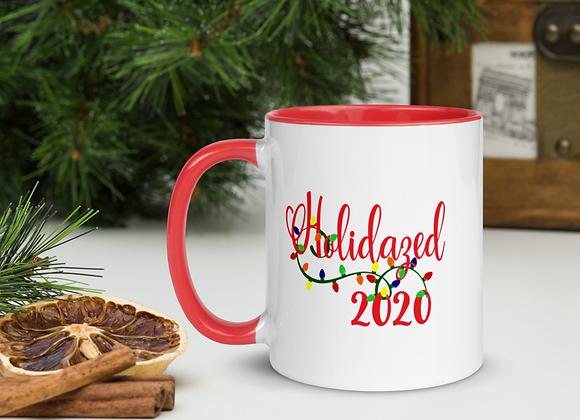 Holidazed 2020 Mug with Red Inside