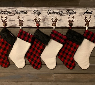 Reindeer Stocking Hanger