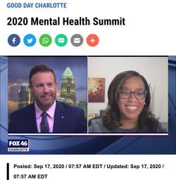 2020 Mental Health Summit - Fox 46 Charlotte