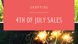 4th of July Sales!