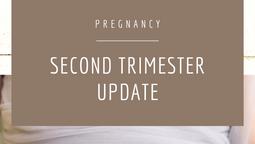 Second Trimester Update