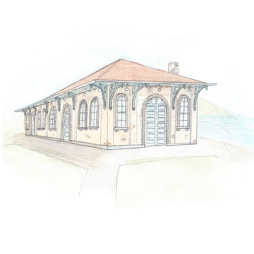 The Depot, Grand Haven - Print