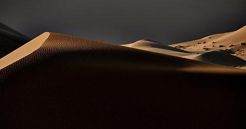 Sonnenaufgang in den Dünen von Namibia