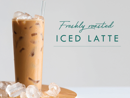 One iced latte, please!
