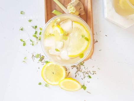 Try our Lemongrass & Ginger Iced Tea