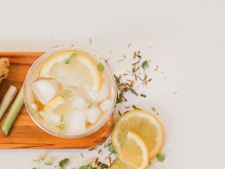 Lemongrass & Ginger Iced Tea