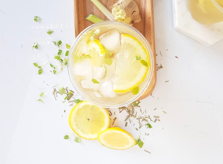Try our Lemongrass & Ginger Iced Tea