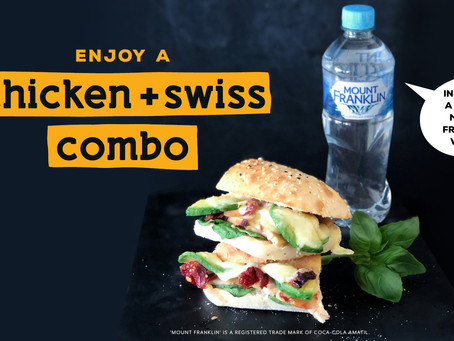 Enjoy our Chicken & Swiss in a combo!
