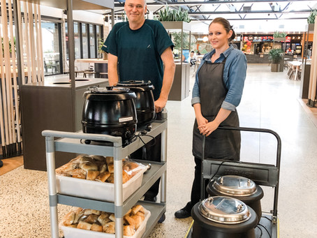 CATERING STAFF