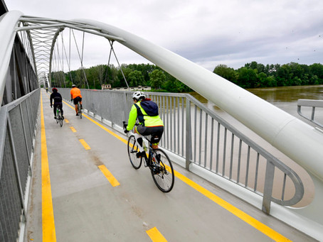 Körbe ért a Tisza-tavi kerékpárút