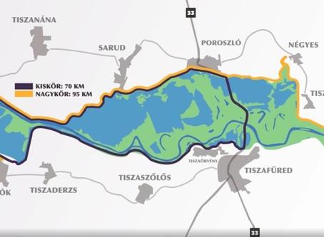 Nyáron már új kerékpárúton közlekedhetünk Tiszafüred és Poroszló között