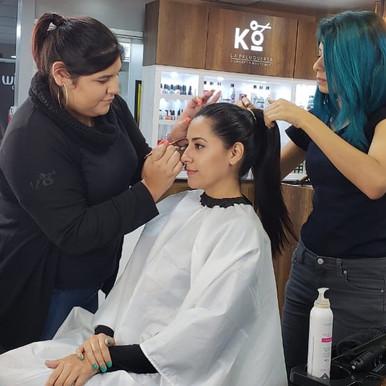 Maquillaje KO