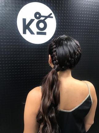 Peinados en KO miraflores
