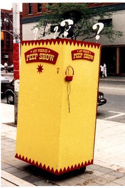 ART WHORES PEEP SHOW 1989